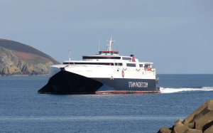 Grundon Marine - Isle of Man Steam Pack Fast Ferry Company - Manannan
